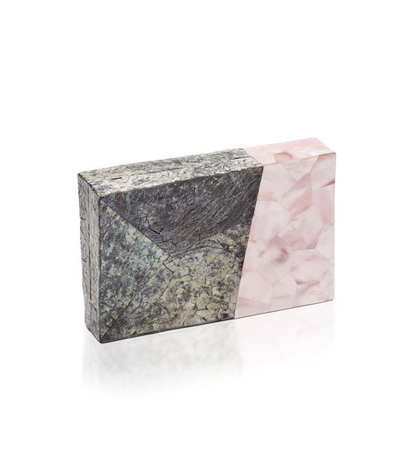 Nathalie Trad Shell Clutch
