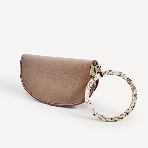 Handbag With Ring Detail