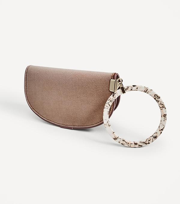 zara bag with ring detail