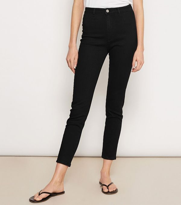 best black jeggings