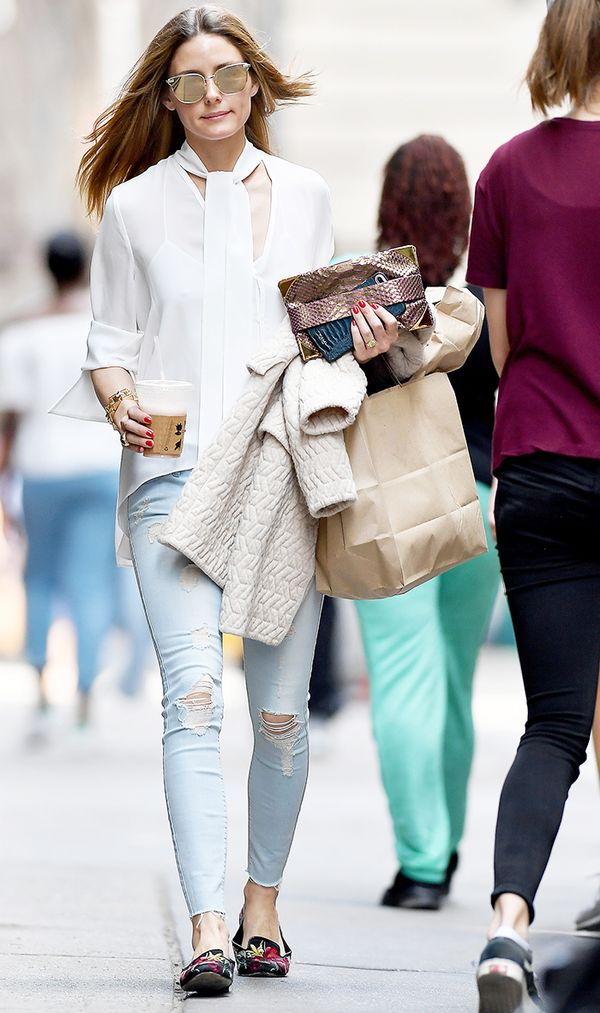 olivia palermo skinny jean outfit