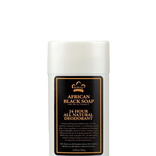 African Black Soap Natural Deodorant