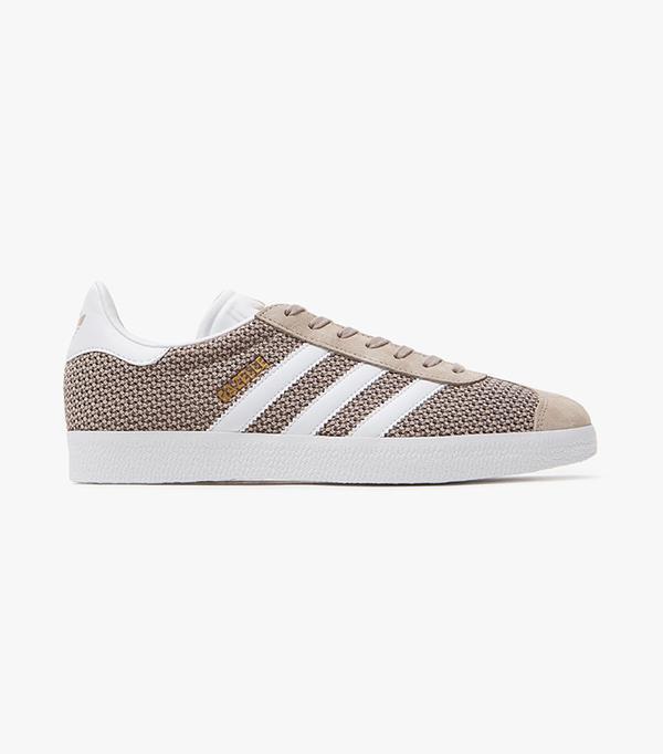 best knit sneakers- adidas gazelle