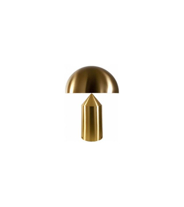 Oluce Atollo 233 Oro Brass Table Lamp