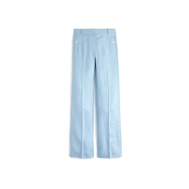 J.Crew Full-Length Linen Pant