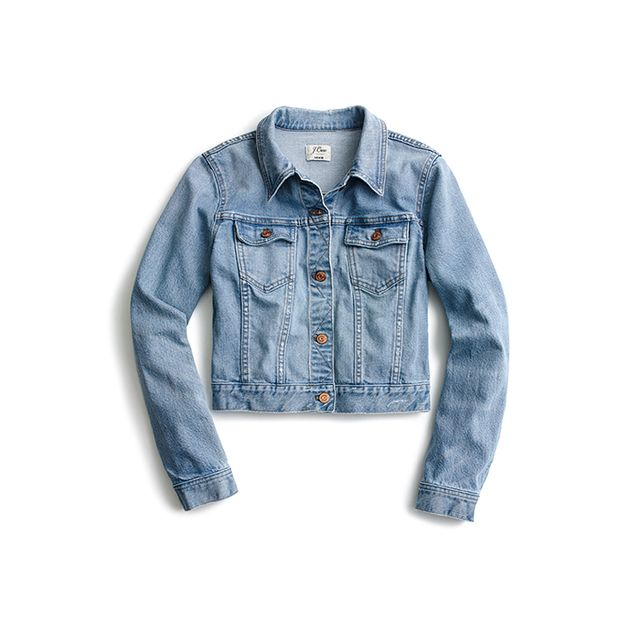 J.Crew Cropped Denim Jacket
