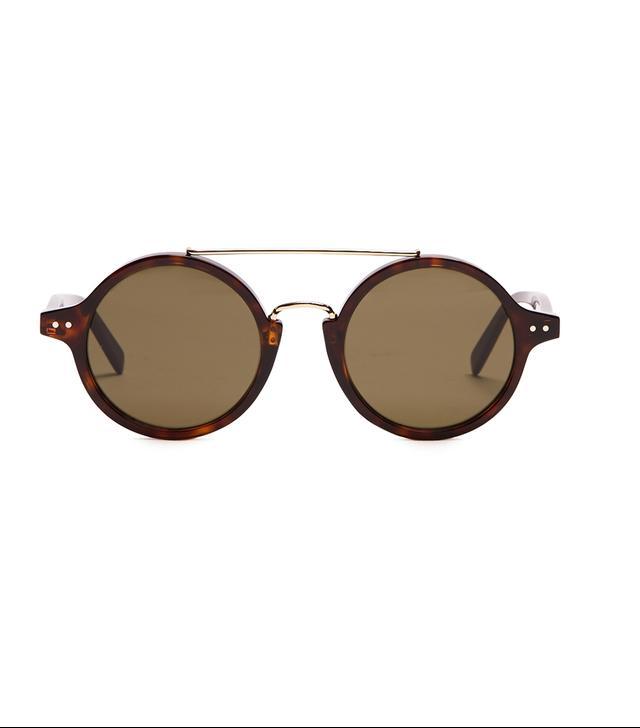 Céline Eyewear Round Acetate Sunglasses