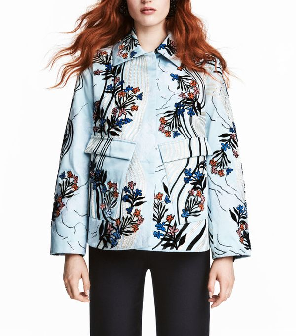 H&M Jacquard-Weave Jacket