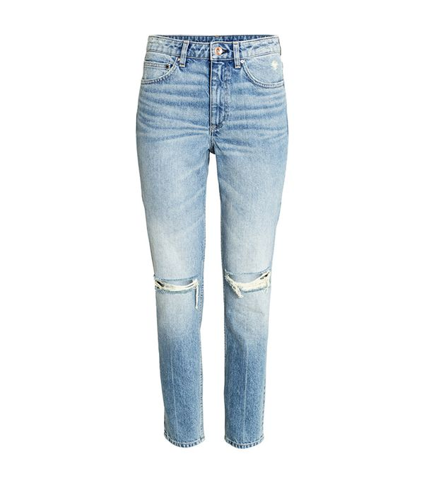 H&M Relaxed Skinny Ankle Jeans