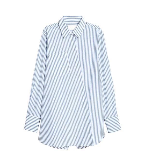 H&M Silk-Blend Shirt