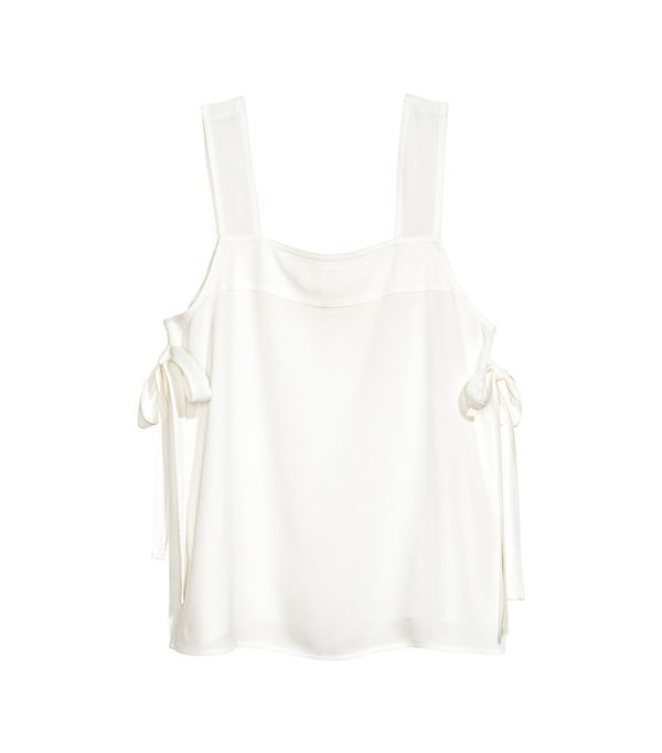 H&M Top with Ties