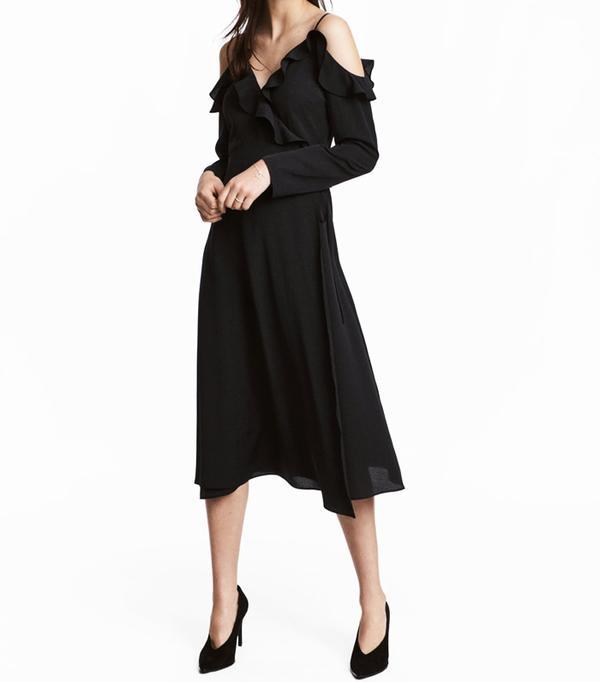 H&M Wrap-Front Dress