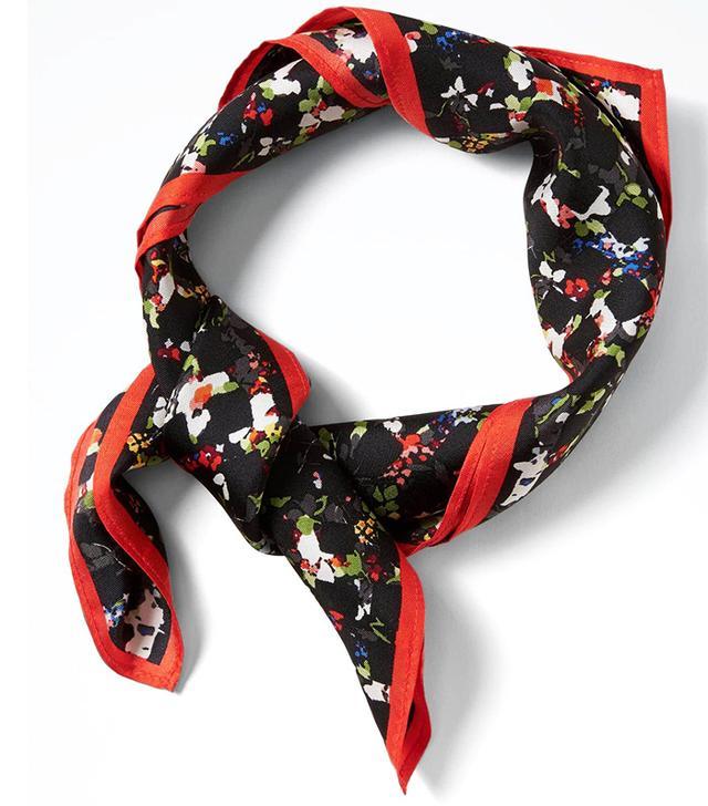 best floral print scarf