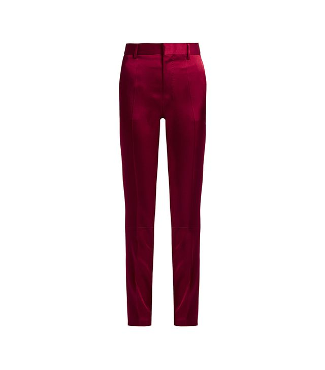 Kuiper Slim-leg Satin Trousers