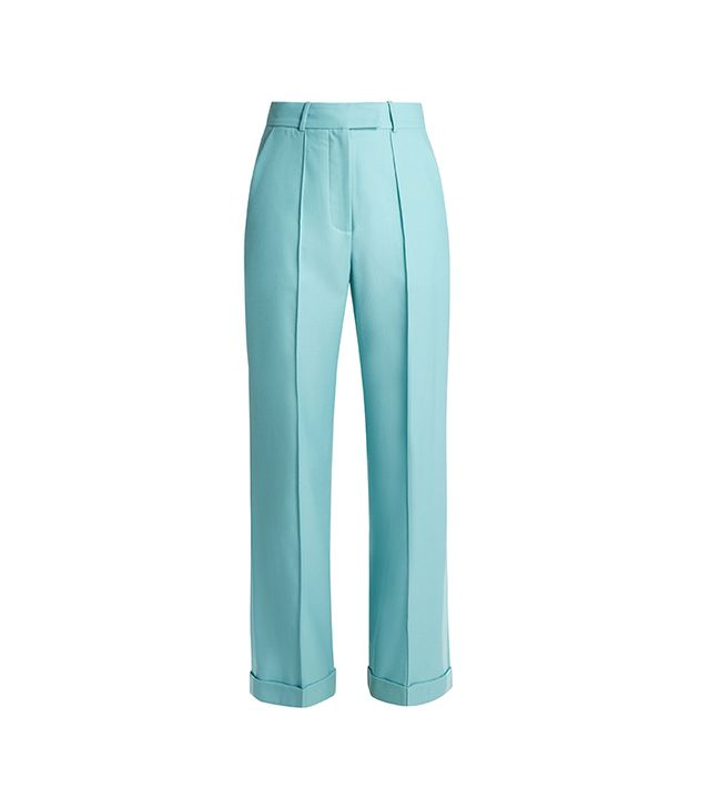 Starman High-rise Wool-blend Trousers