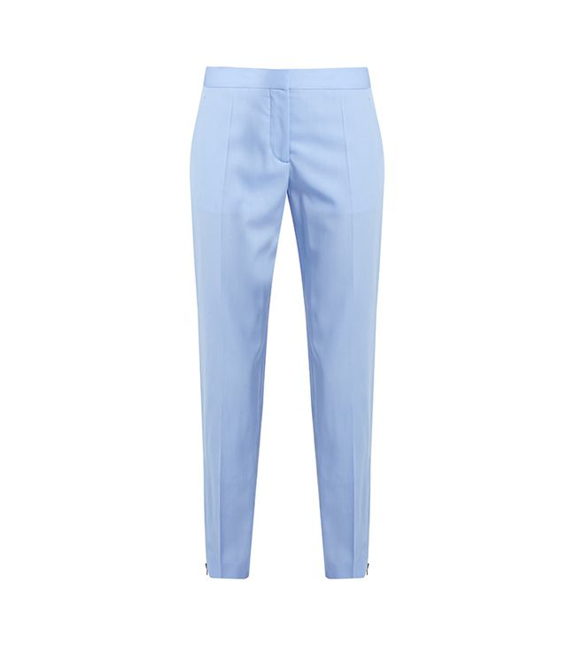 Vivian Wool Slim-leg Trousers