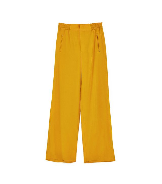 High Waist Wide Trousers