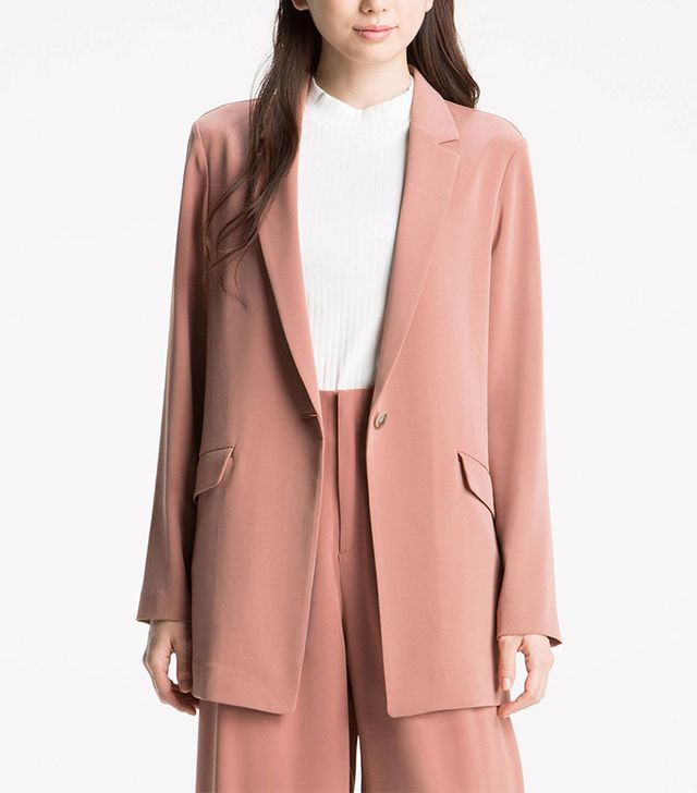 Drape Long Jacket