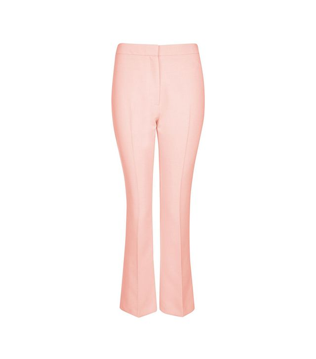 Crop Kick Flare Trousers
