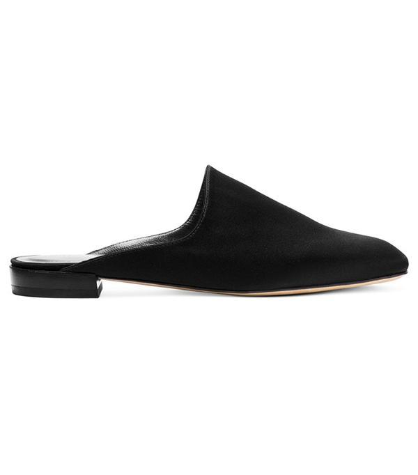 flat shoe trend: Stuart Weitzman Mulearky Slides