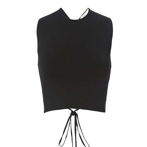 Remi Lace-Up Back Knit