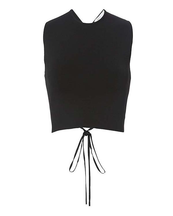 A.L.C. Remi Lace-Up Back Knit