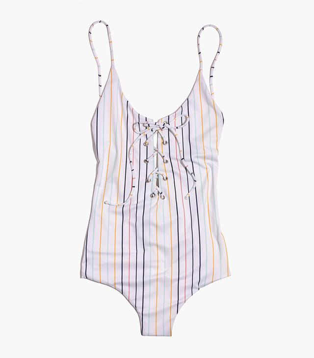 flattering one-piece swimsuit