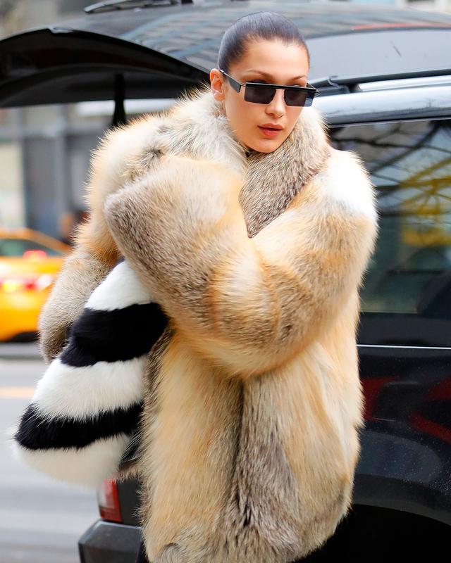 On Bella Hadid: Adam Selman by Le Specs The Flex Sunglasses ($119)