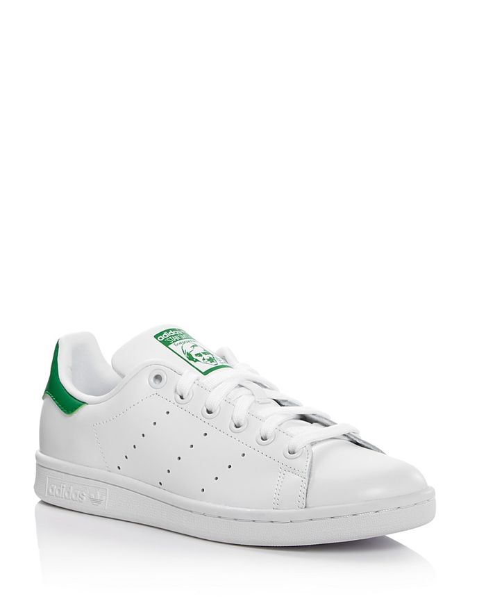Stan Smith Lace Up Sneakers by Adidas