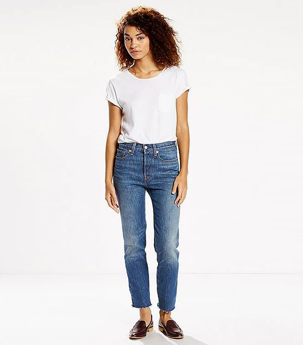 French girl style - Levi's Wedgie Fit Jeans