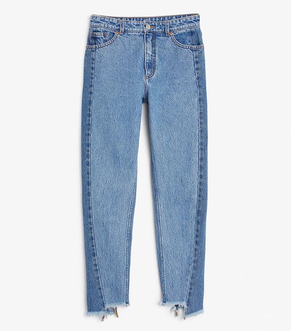 shop jeans Monki Kimono Jeans
