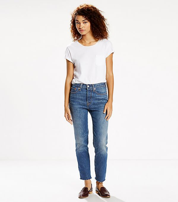 shop jeans - Levi's Wedgie Fit Jeans