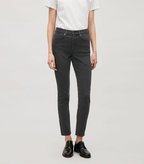 shop jeans - COS Skinny-Fit Cropped Jeans
