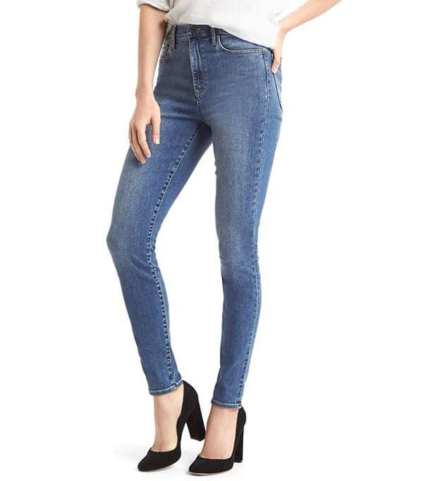 shop jeans - Gap Super High Rise True Skinny Jeans