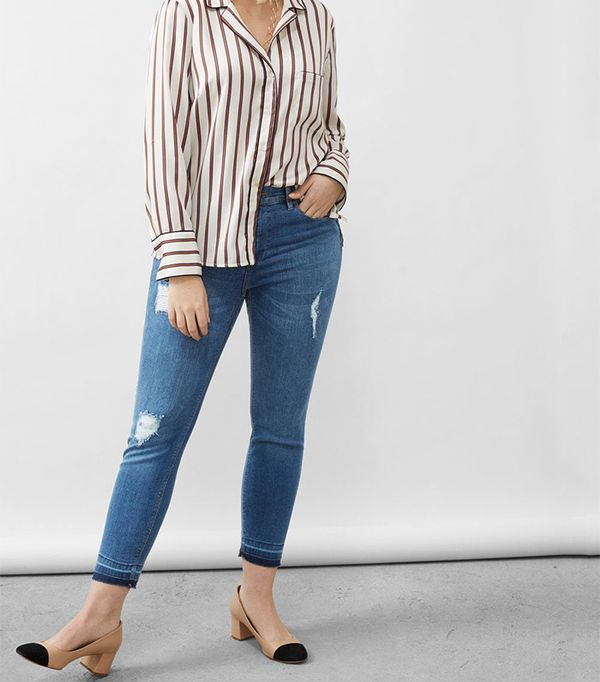 Mango Slim-Fit Push Up Mariah Jeans