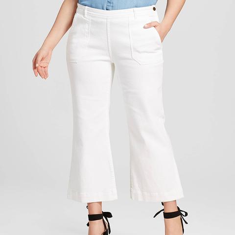 High Waisted Cargo Jean