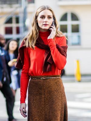 Olivia Palermo Just Wore the Summer's Daring New Denim Trend