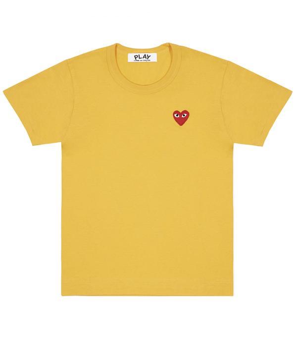 Commes des Garçons Play: Commes des Garçons Play Play Colour Series T-Shirt Red Heart