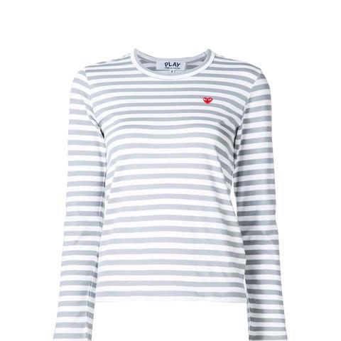 Mini Heart Striped T-Shirt