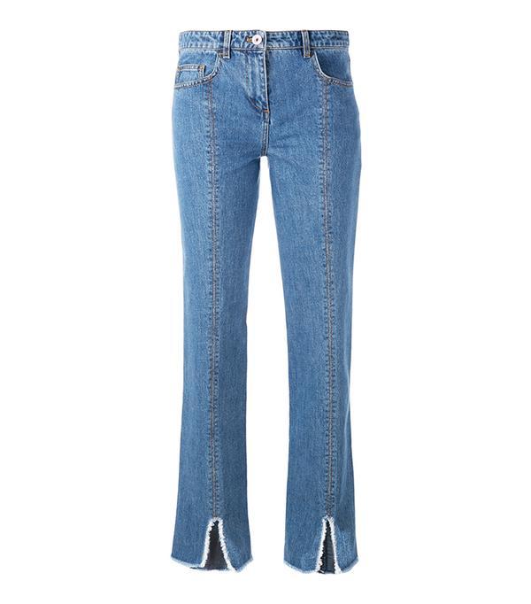 Courrèges Cut Down Jeans