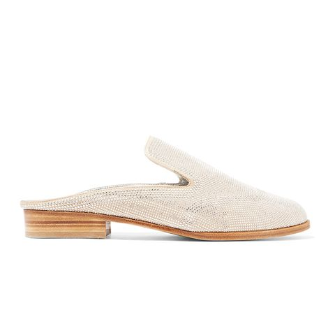 Astre Studded Suede Slippers