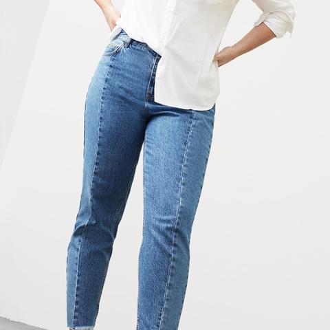 Mom-Fit Desi Jeans
