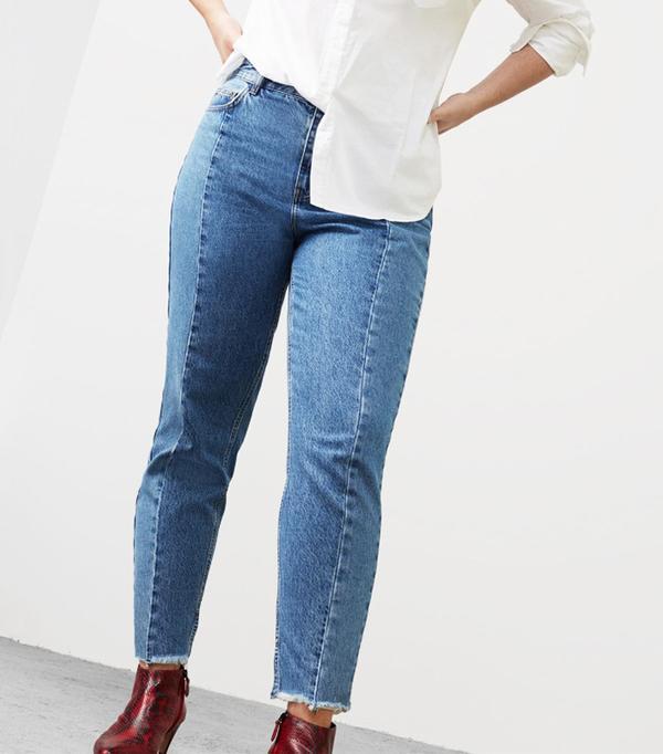 Violeta Mom-Fit Desi Jeans