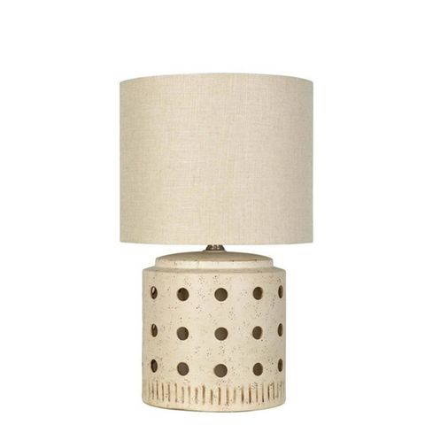 Ceramic Cut Out Table Lamp