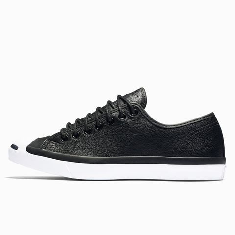 Jack Purcell Tumbled Leather Low Top Sneakers