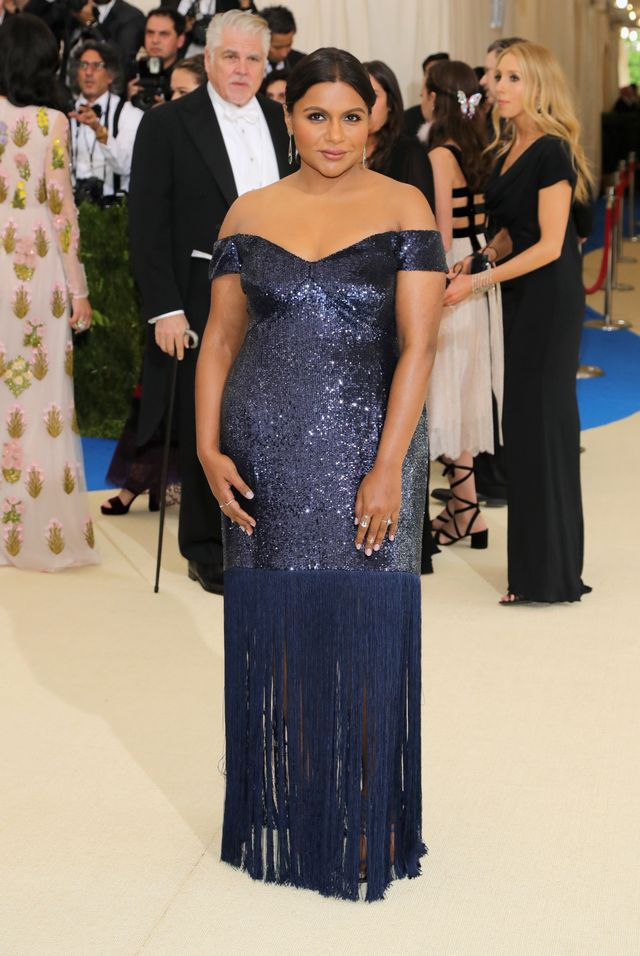 WHO: Mindy Kaling WEAR: Prabal Gurung