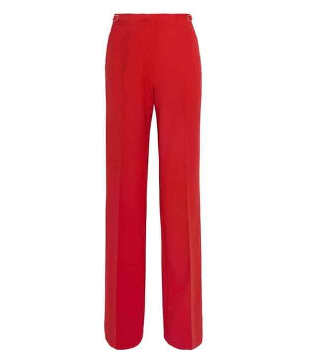 Emma Watson the Circle press tour: red trousers