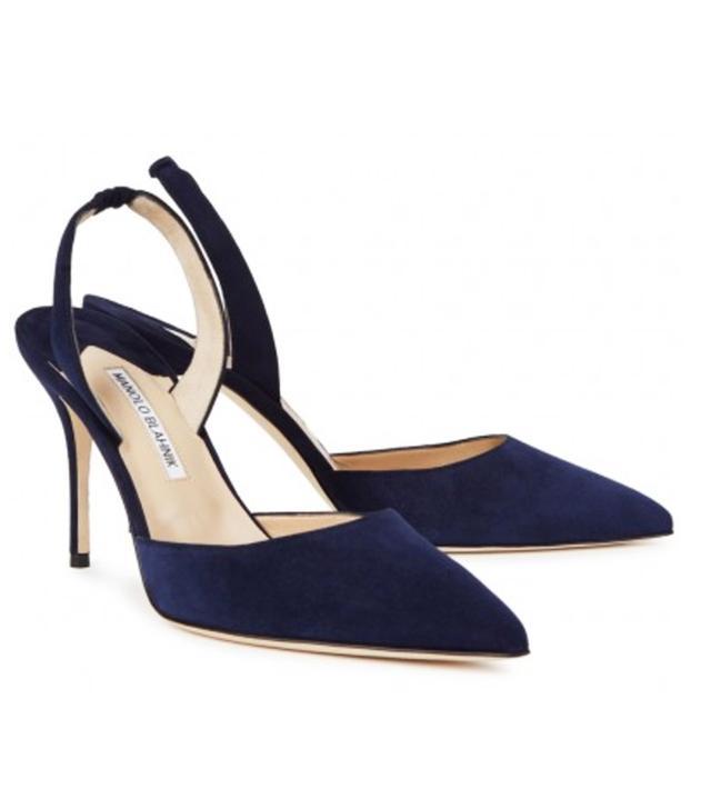 Emma Watson the Circle press tour: Manolo Blahnik shoes