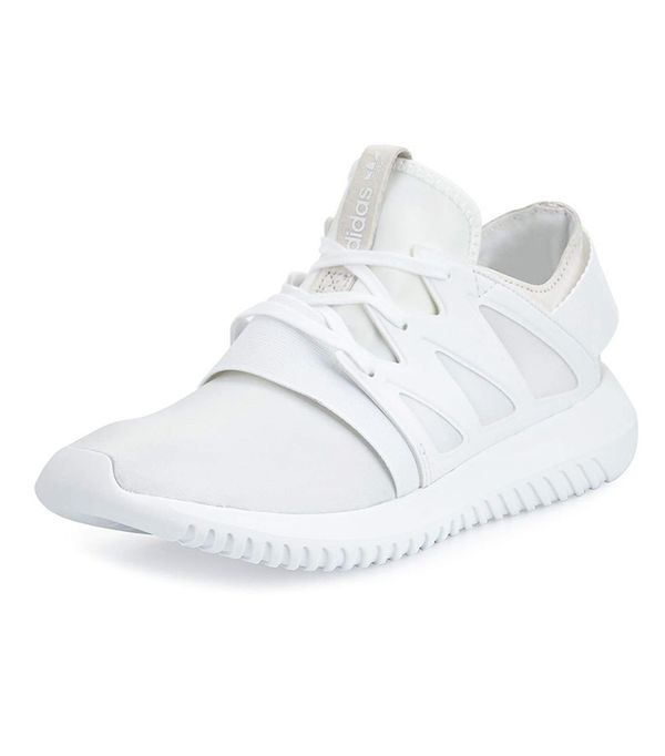 best white Adidas sneakers: Tubular Viral Neoprene Sneakers