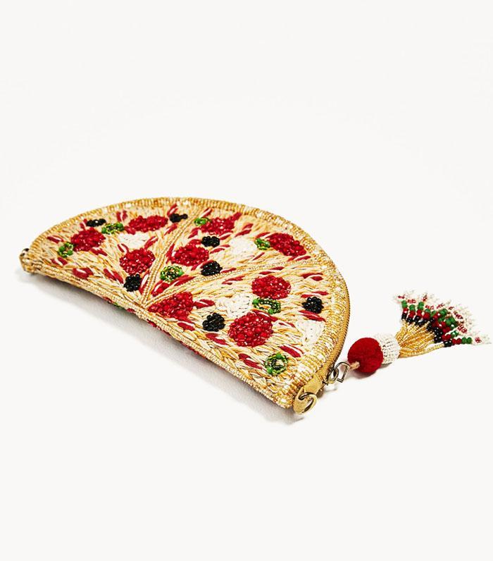 Best novelty handbags: Zara pizza bag